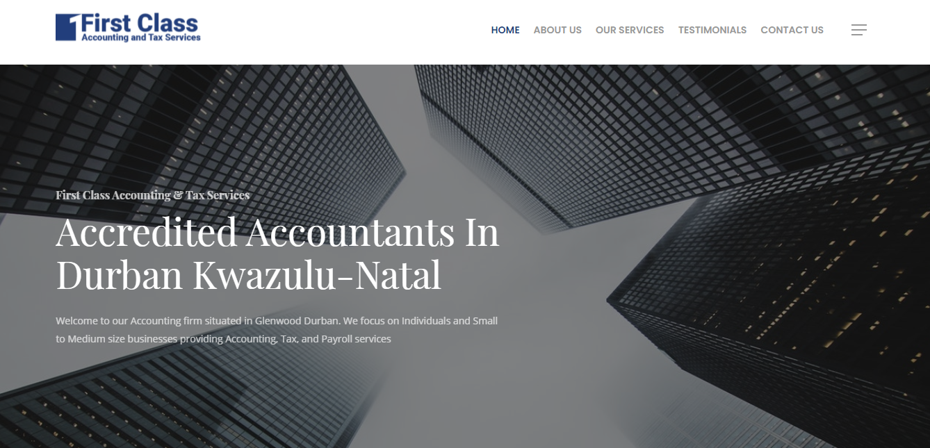 First Class Accounting & Tax Services
